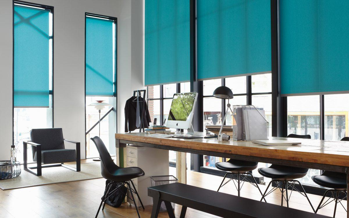 turquoise luxaflex blinds